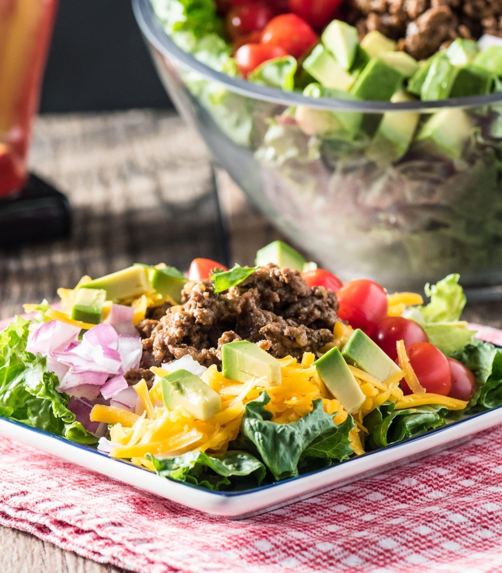Taco Salad Recipe No Carbs