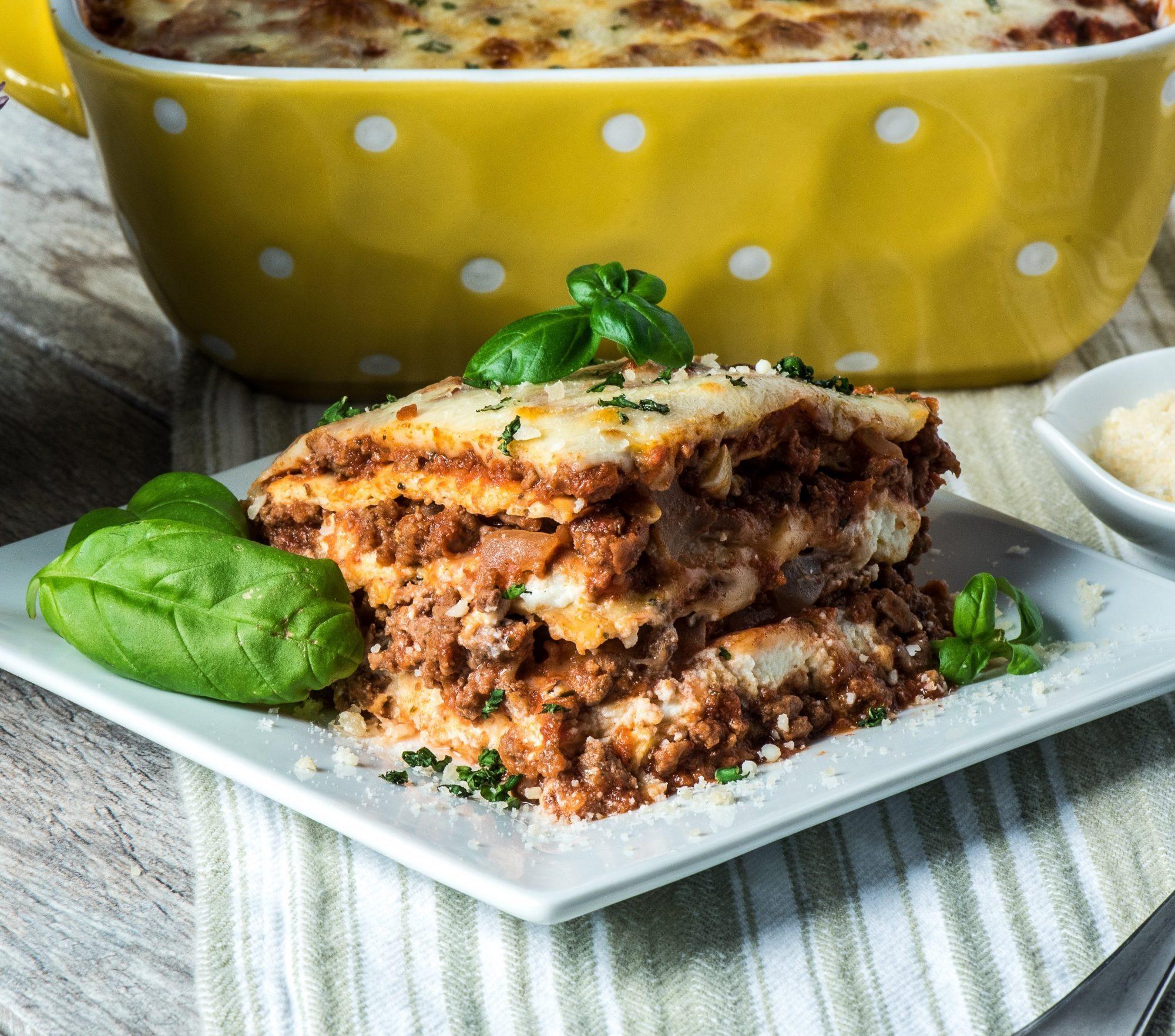 Keto Lasagna Noodle Pasta Recipe